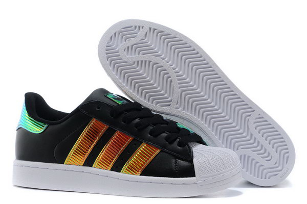 Adidas Superstar Mens & Womens (unisex) Gradient Black Gold Online